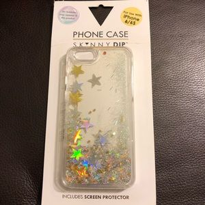 Glitter Star Phone Case & Protecter IPhone 6/6s